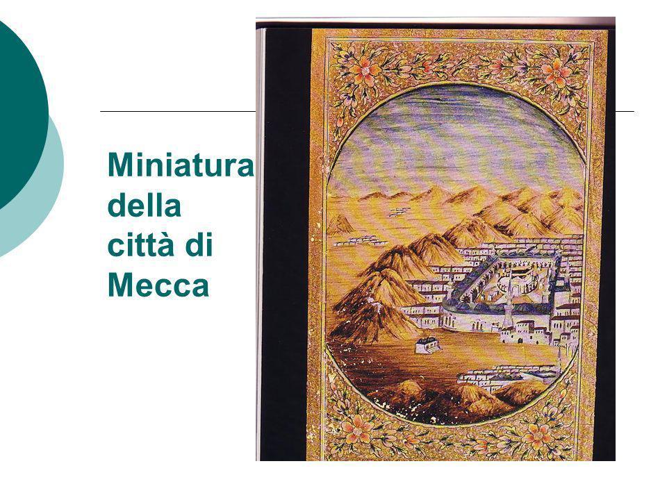 Miniatura della città di Mecca