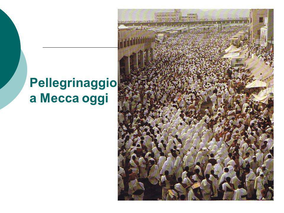 Pellegrinaggio a a Mecca oggi