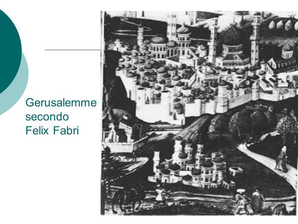 Gerusalemme secondo Felix Fabri