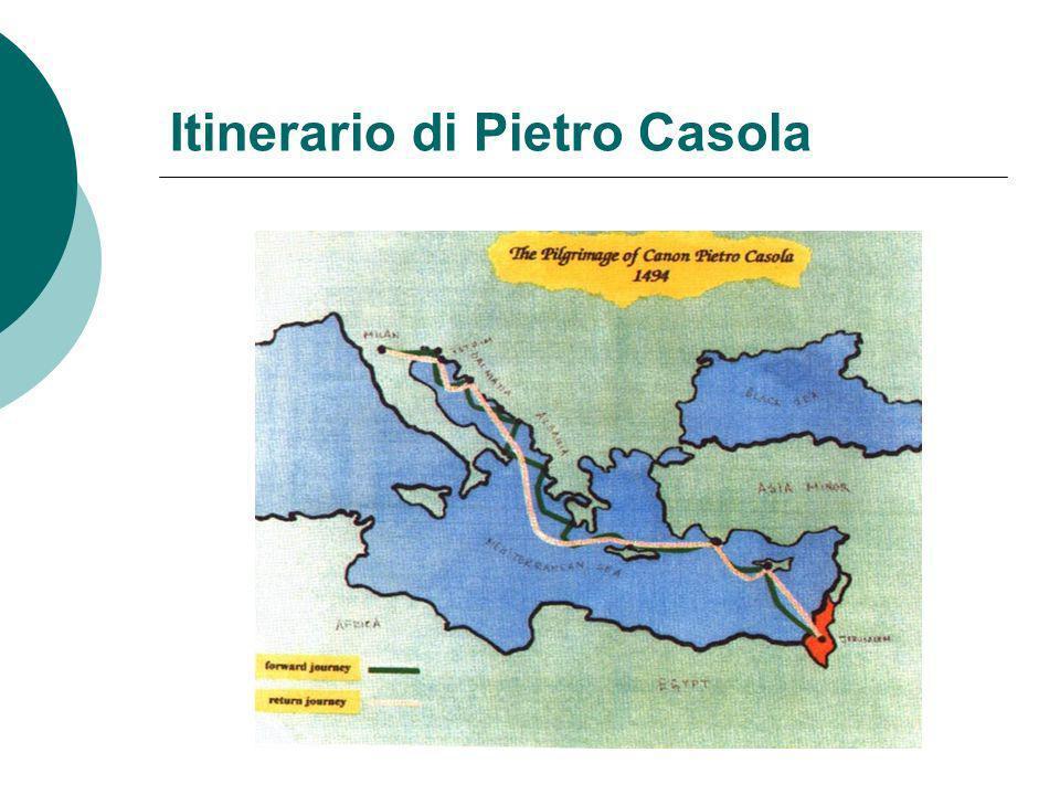 Itinerario di Pietro Casola