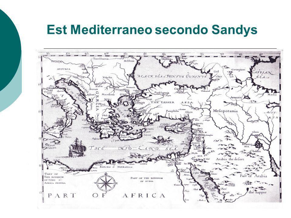 Est Mediterraneo secondo Sandys