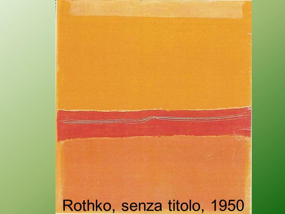Rothko, senza titolo, 1950