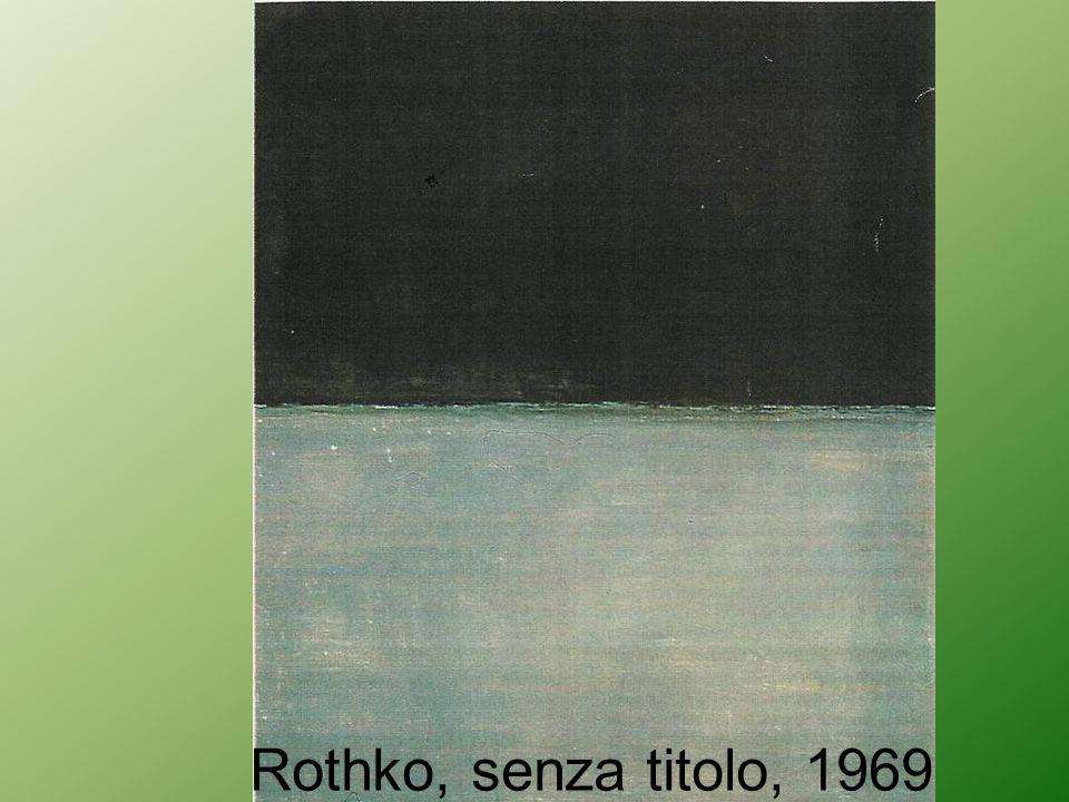Rothko, senza titolo, 1969