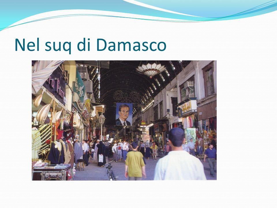 Nel suq di Damasco