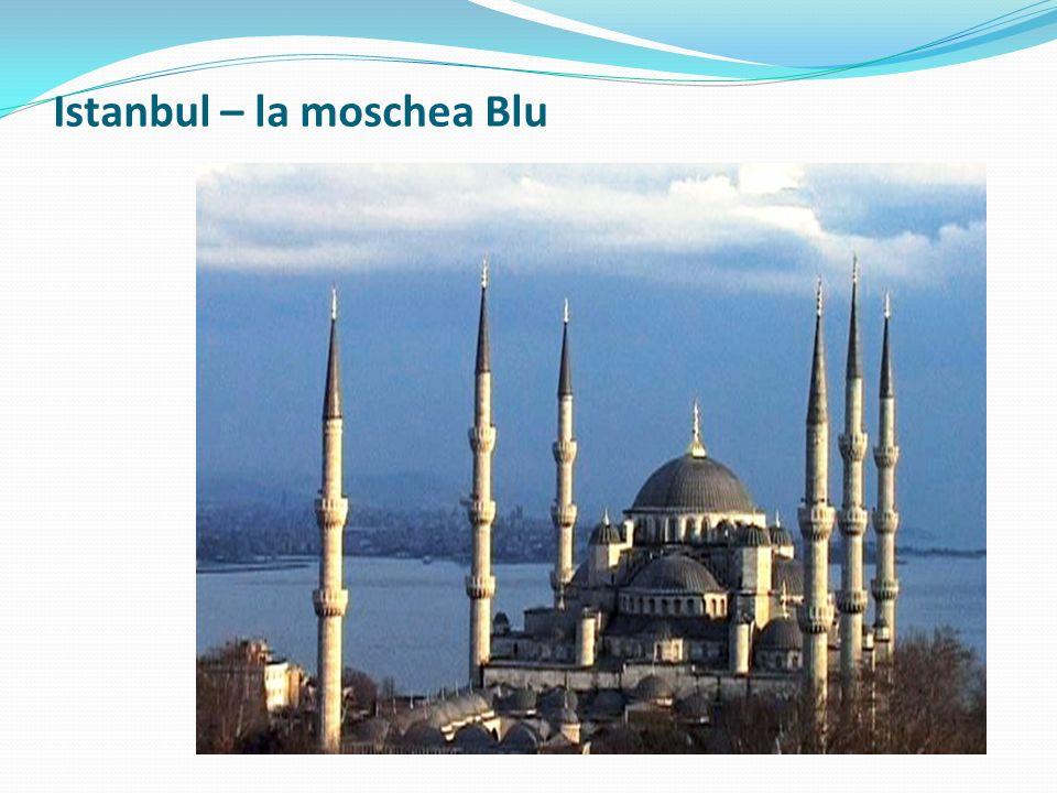 Istanbul – la moschea Blu