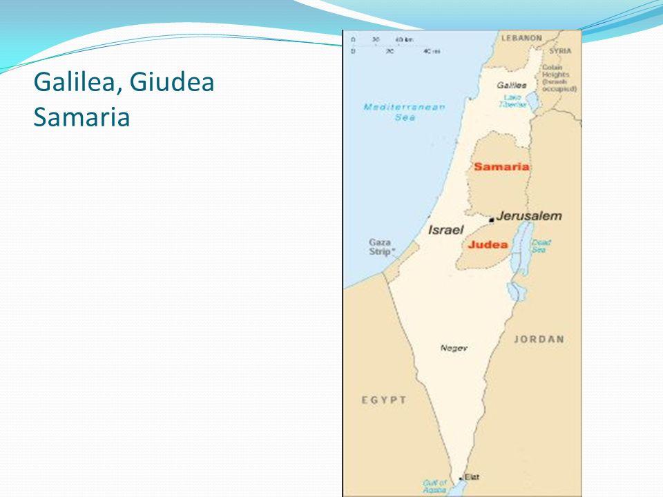 Galilea, Giudea Samaria