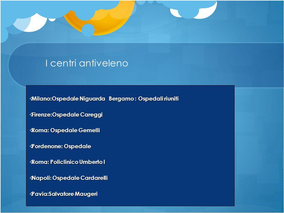 Milano:Ospedale Niguarda Bergamo : Ospedali riuniti Milano:Ospedale Niguarda Bergamo : Ospedali riuniti Firenze:Ospedale Careggi Firenze:Ospedale Care