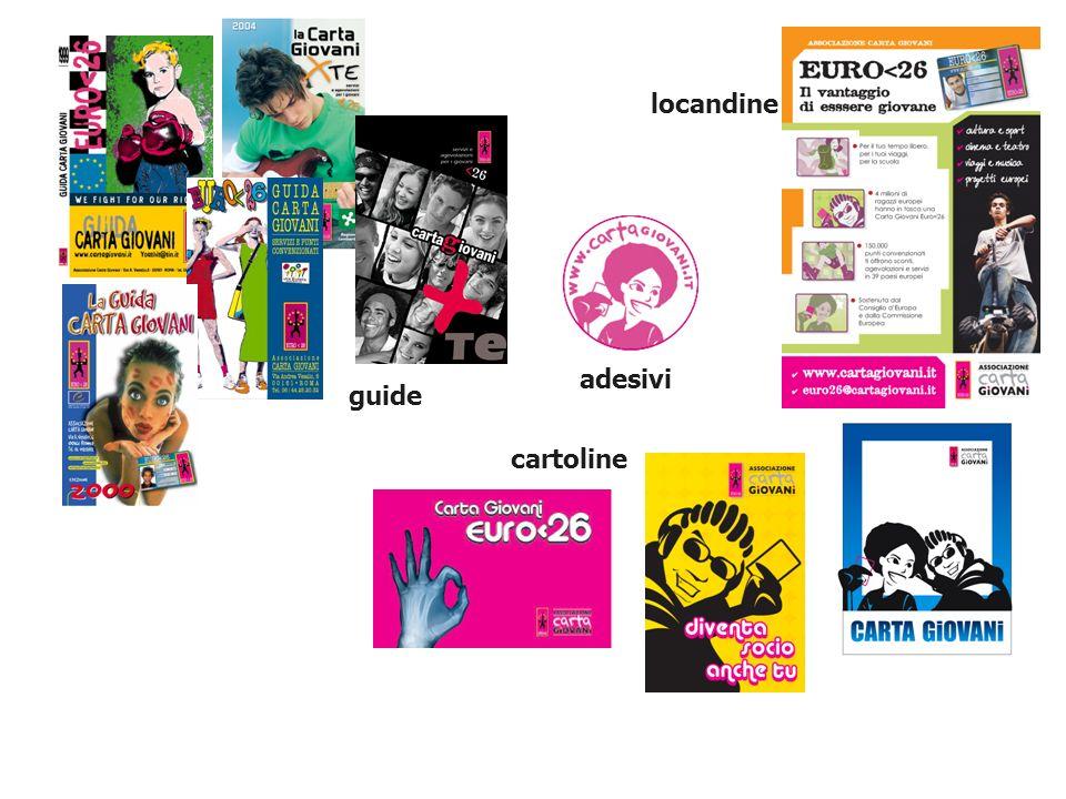 locandine cartoline guide adesivi