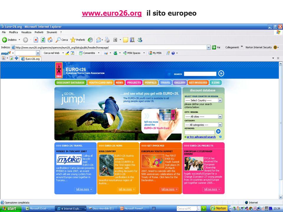 www.euro26.orgwww.euro26.org il sito europeo