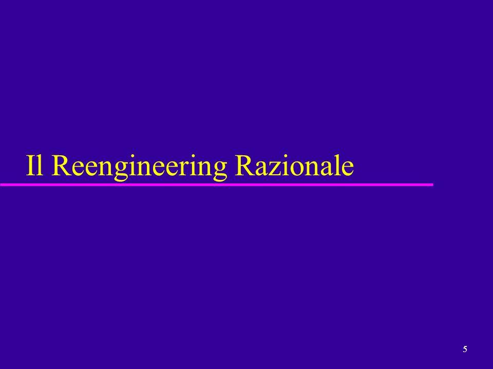 5 Il Reengineering Razionale