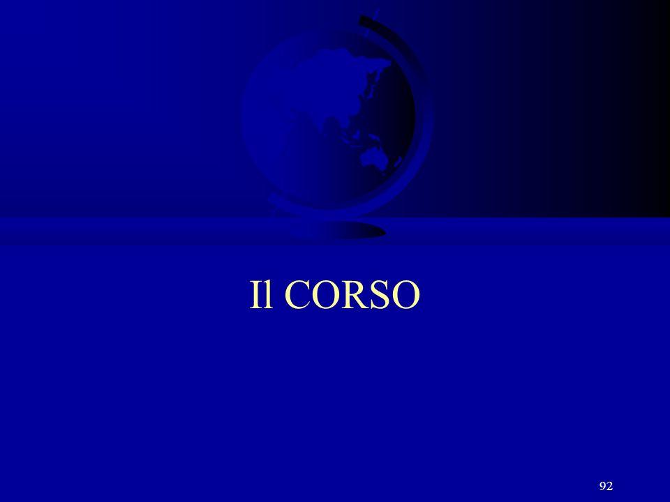 92 Il CORSO