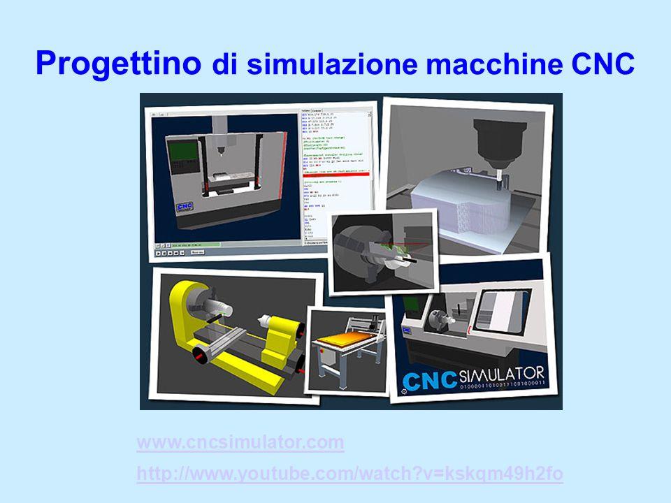 Progettino di simulazione macchine CNC www.cncsimulator.com http://www.youtube.com/watch?v=kskqm49h2fo