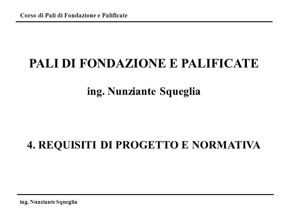 Corso di Pali di Fondazione e Palificate ing.