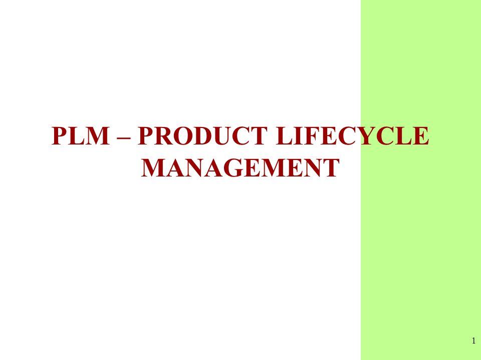 2 PLM Product Lifecycle Management PLM, è il nuovo acronimo assegnato al Product Data Management PDM, vale a dire la gestione dati di prodotto Con questa sigla si intende la gestione nel tempo di tutte le informazioni sviluppate da un azienda allo scopo di progettare, costruire, commercializzare e mantenere un prodotto