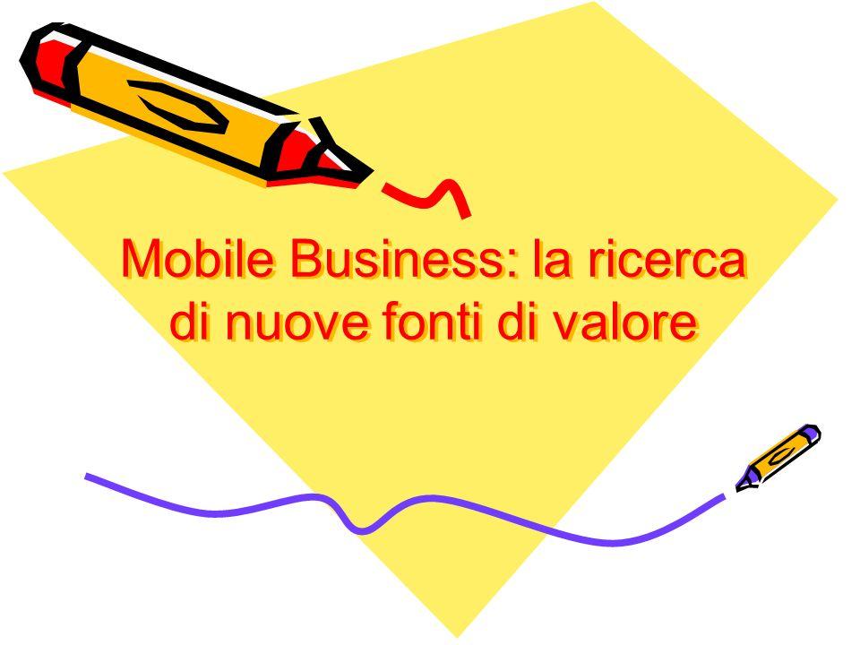 Mobile Business: la ricerca di nuove fonti di valore