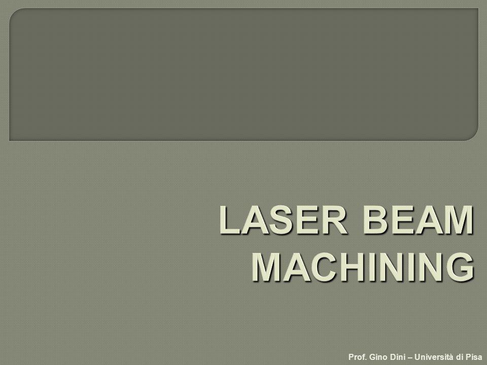 Laser Beam Machining (LBM) lente di focalizzazione fotoni gas dapporto pezzo