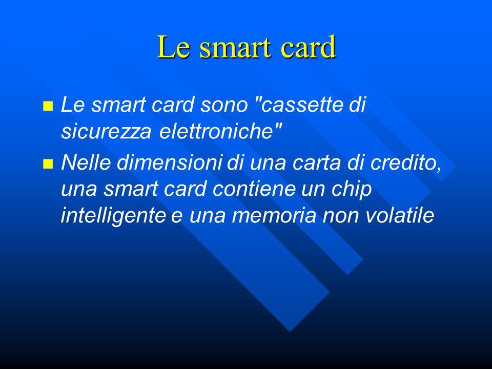 Le smart card sono