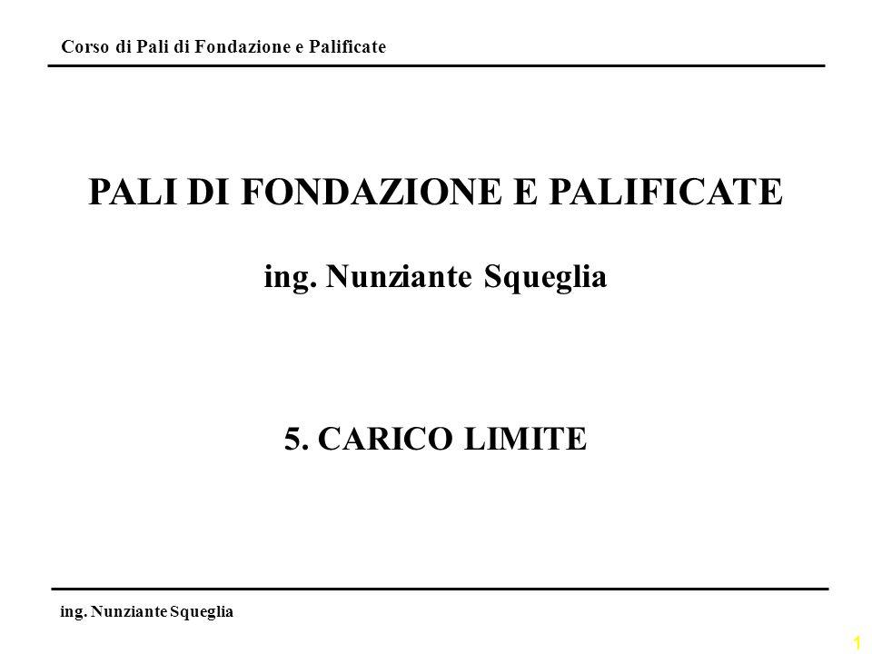 22 Corso di Pali di Fondazione e Palificate ing.
