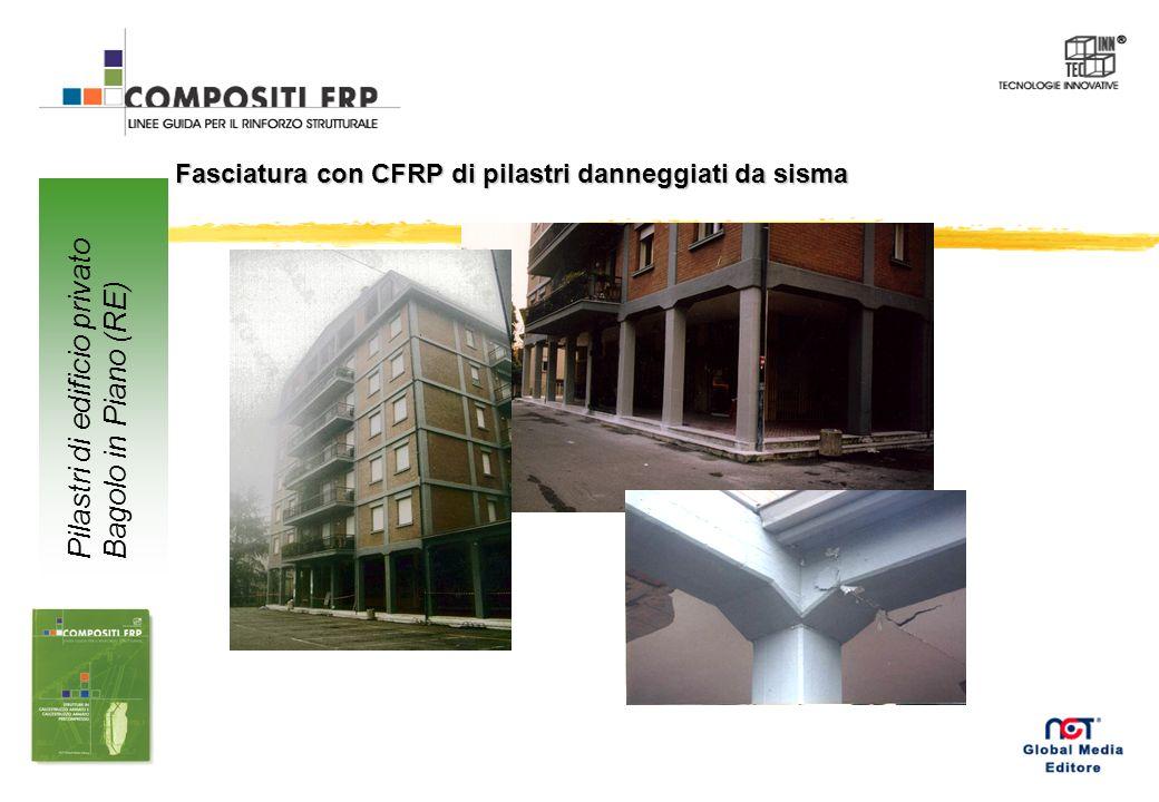Rinforzo a flessione con CFRP di travi in c.a. Cinema Astoria Ravenna
