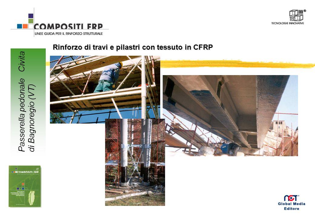 Rinforzo con CFRP ad altissimo modulo di travi in c.a. Edificio pluripiano IACP Aprilia (LT)