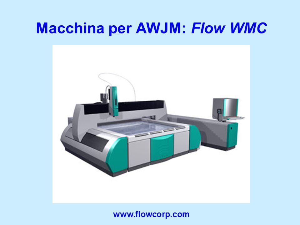 Macchina per AWJM: Flow WMC www.flowcorp.com