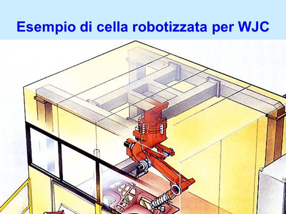 Esempio di cella robotizzata per WJC