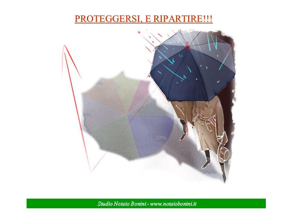 PROTEGGERSI, E RIPARTIRE!!!