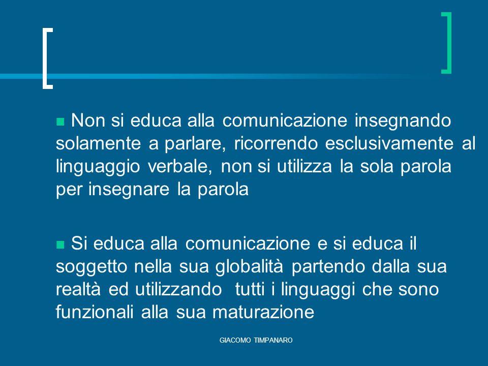 GIACOMO TIMPANARO Presenza di specifiche figure professionali (es.