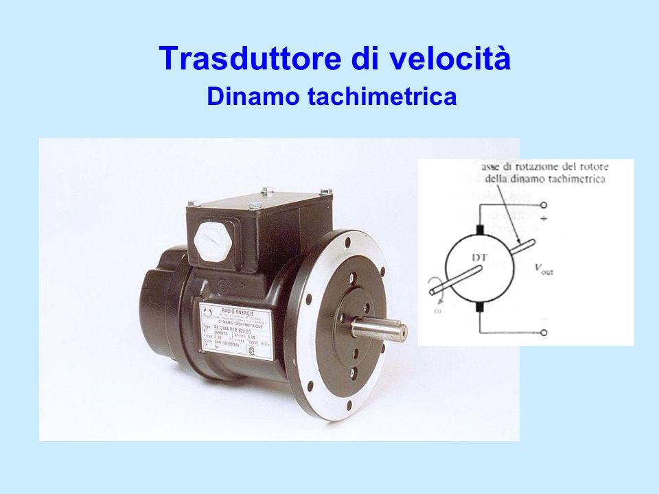Trasduttore di velocità Dinamo tachimetrica