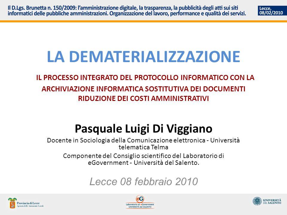 LA GESTIONE DOCUMENTALE DIGITALE MISURE ORGANIZZATIVE ESSENZIALI Area Org.