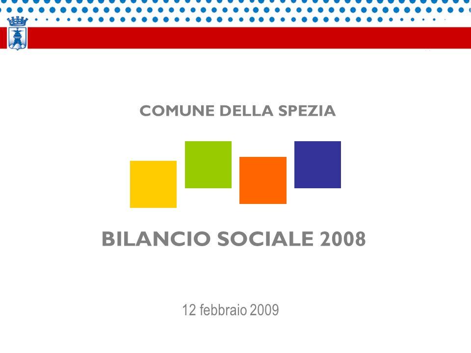 BILANCIO SOCIALE 2008 COMUNE DELLA SPEZIA 12 febbraio 2009