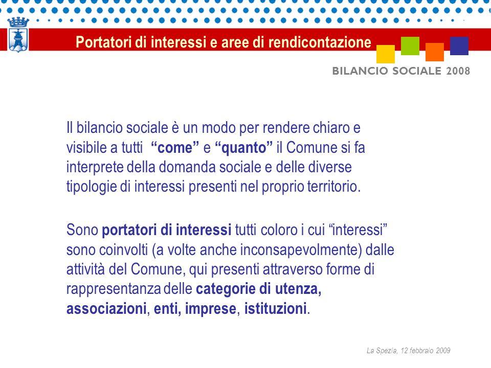 BILANCIO SOCIALE 2008 Il bilancio sociale è un modo per rendere chiaro e visibile a tutti come e quanto il Comune si fa interprete della domanda socia