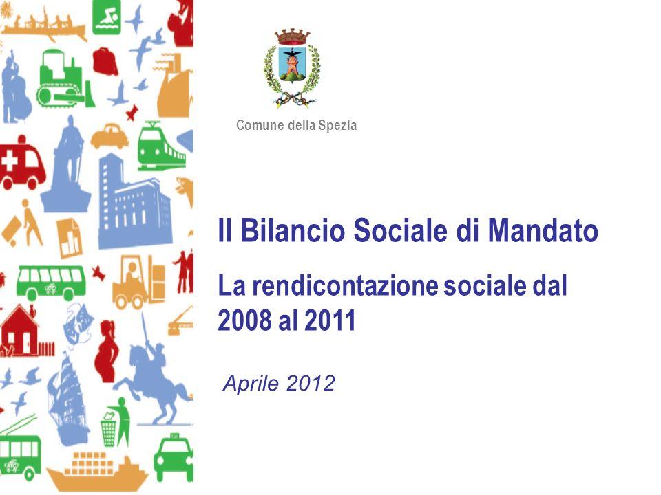 Il Bilancio Sociale di Mandato La rendicontazione sociale dal 2008 al 2011 Aprile 2012 Comune della Spezia