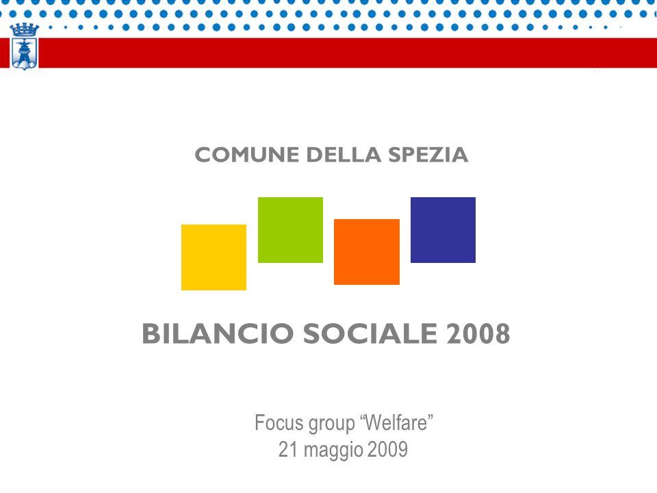 BILANCIO SOCIALE 2008 COMUNE DELLA SPEZIA Focus group Welfare 21 maggio 2009