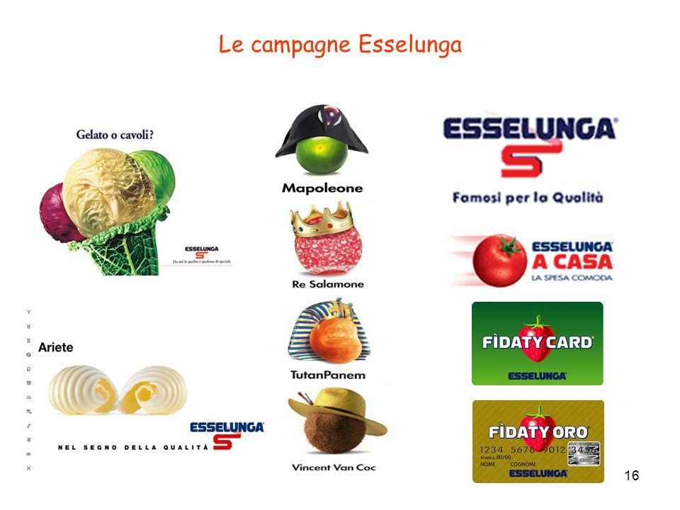16 Le campagne Esselunga