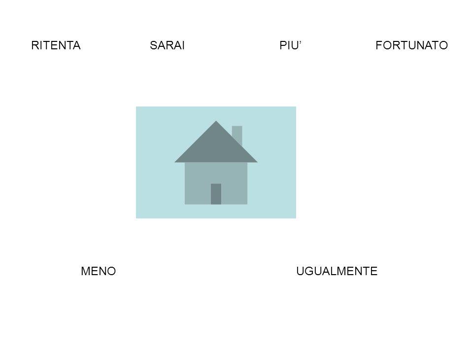 RITENTASARAI FORTUNATO MENOPIU UGUALMENTE CLICCA SU UNA DELLE POSSIBILITA QUI SOTTO