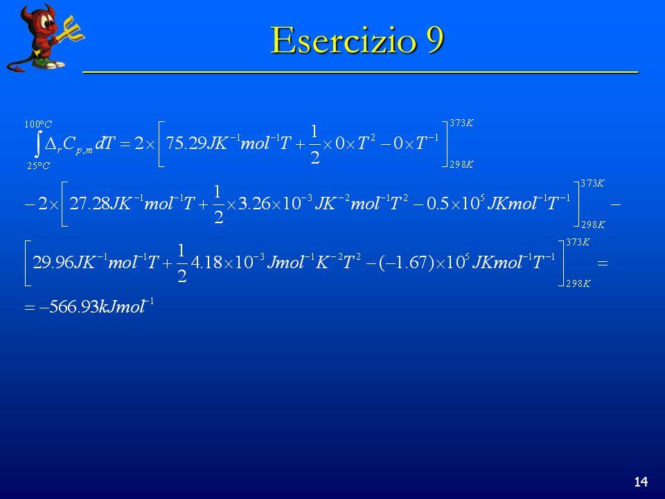 14 Esercizio 9