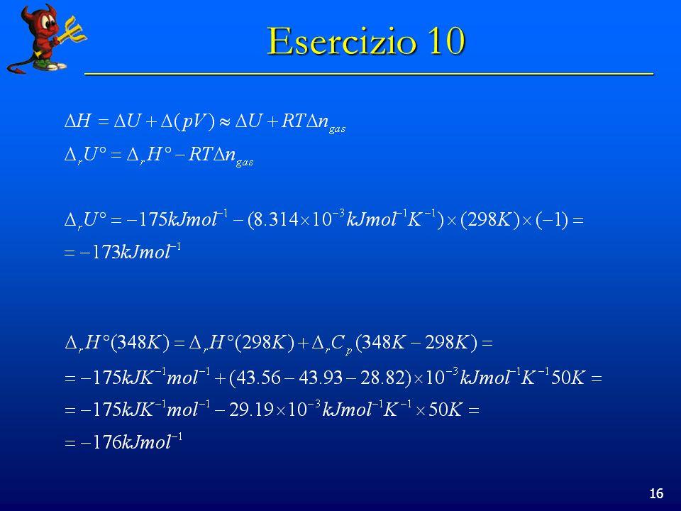16 Esercizio 10