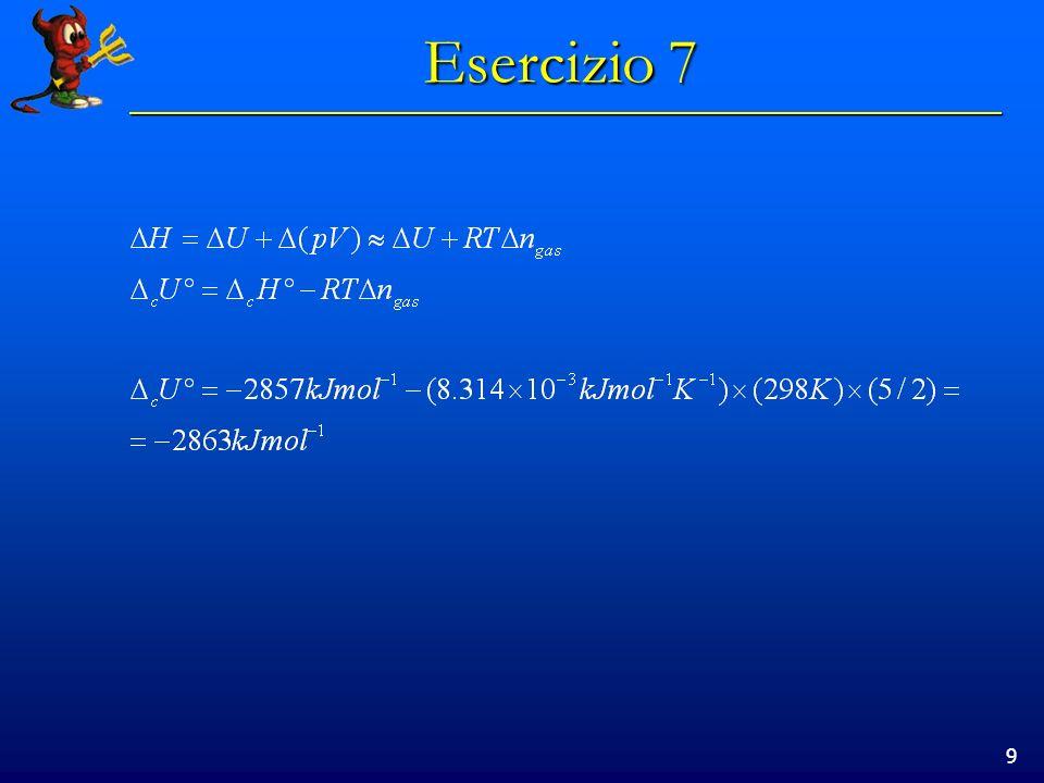 9 Esercizio 7