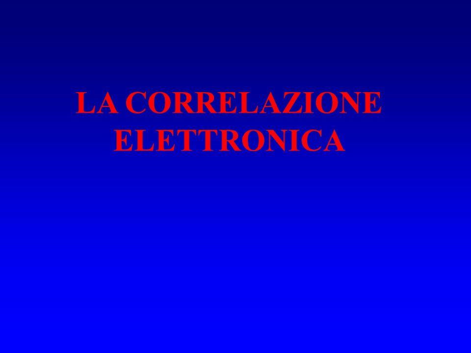 Come unespansione multideterminantale introduce la correlazione elettronica .