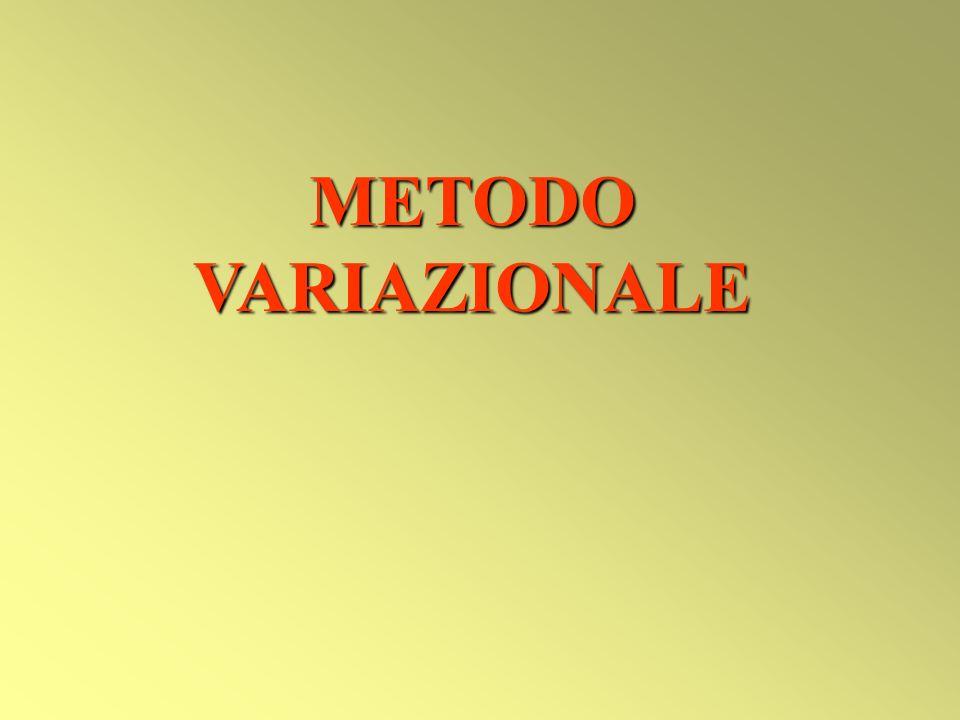 METODO VARIAZIONALE