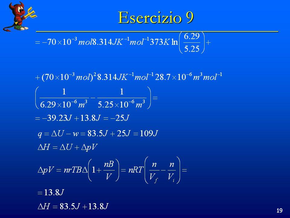 19 Esercizio 9