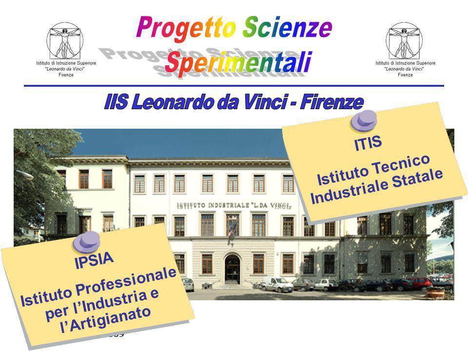 Scandicci, 24/09/2009 ITIS Istituto Tecnico Industriale Statale IPSIA Istituto Professionale per lIndustria e lArtigianato