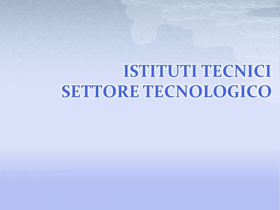 LA STRUTTURA: RIDUZIONE INDIRIZZI ISTITUTO TECNICO – SETTORE TECNOLOGICO 9 INDIRIZZI – 19 ARTICOLAZIONI ISTITUTI TECNICI SETTORE TECNOLOGICO QUADRI DISCIPLINARI CONSOLIDAMENTO FORMAZIONE AREA GENERALE - LINGUA E LETTERATURA ITALIANA - LINGUA INGLESE - MATEMATICA – COMPLEMENTI DII MATEMATICA - INFORMATICA