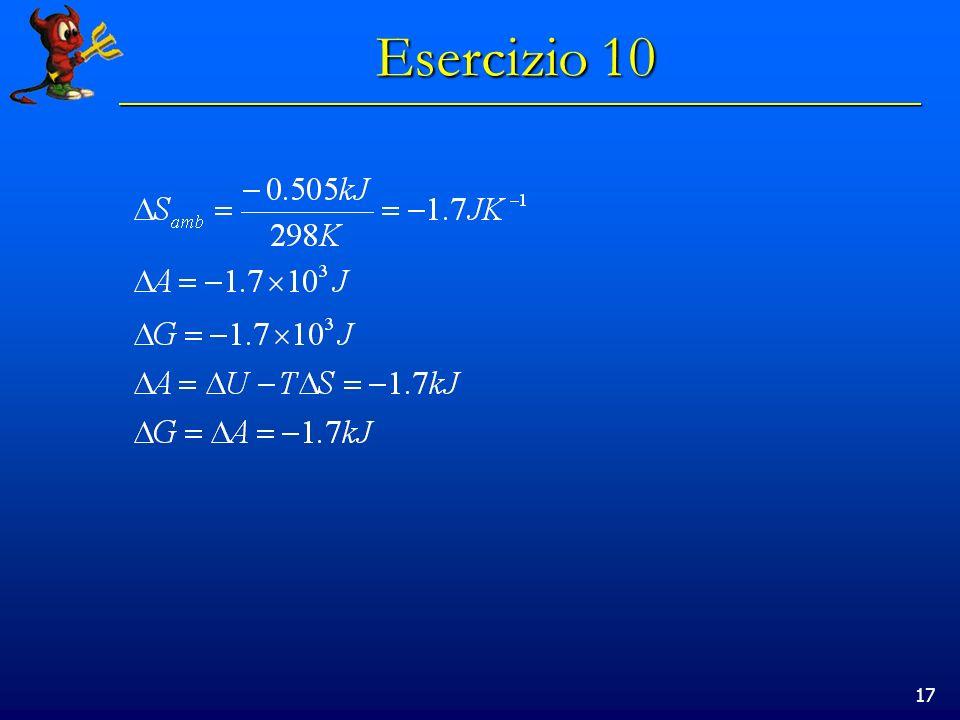 17 Esercizio 10
