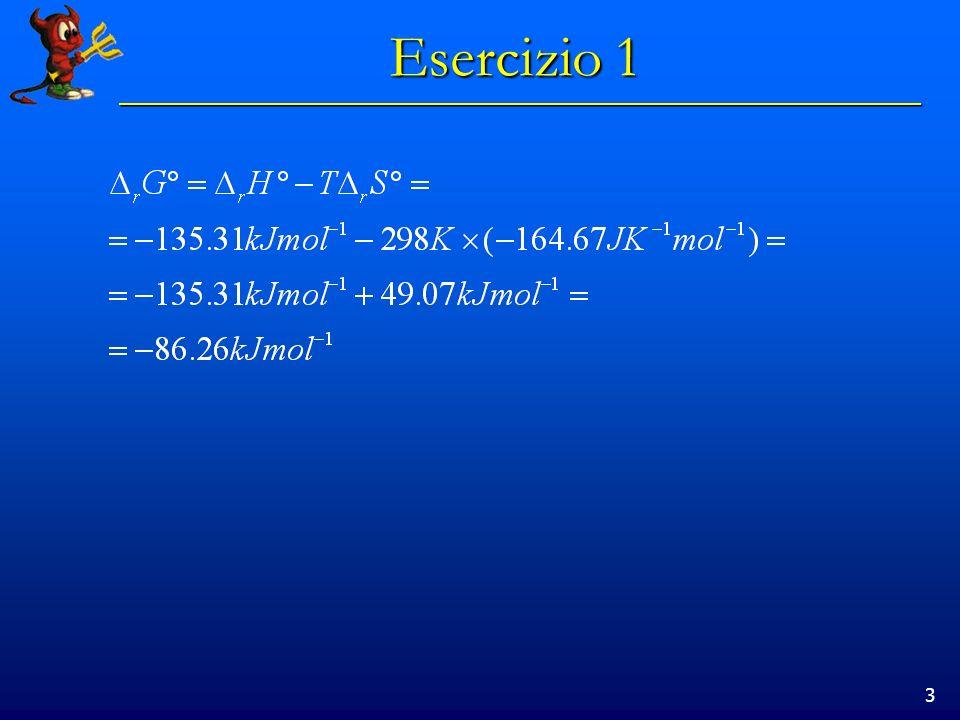 3 Esercizio 1