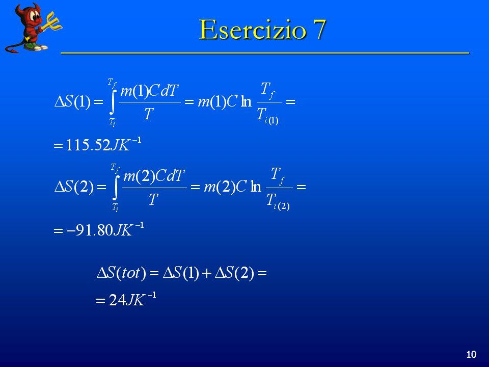10 Esercizio 7
