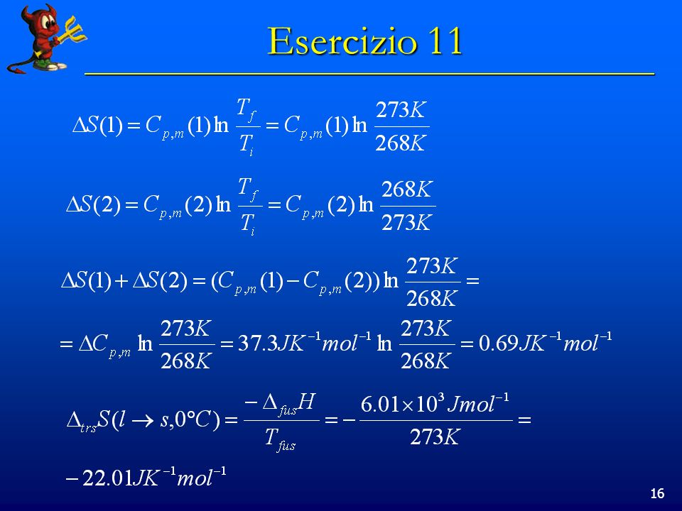 16 Esercizio 11