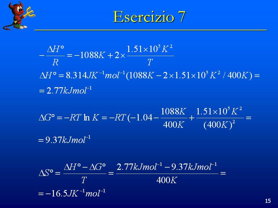 15 Esercizio 7