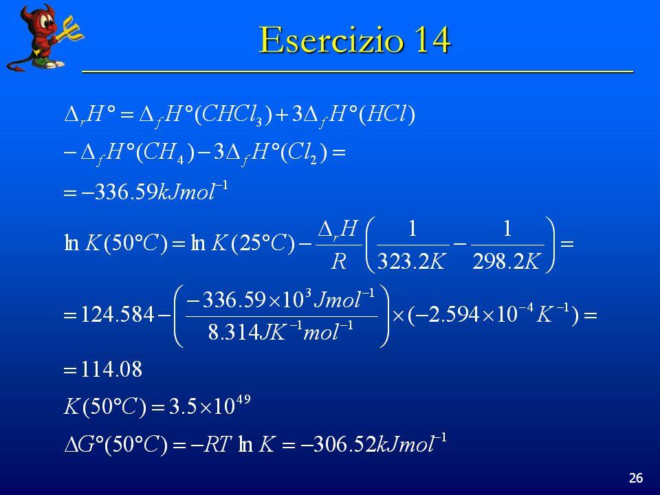 26 Esercizio 14